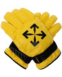 Off-White c/o Virgil Abloh Padded Gloves - Yellow
