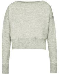 Golden Goose Deluxe Brand - Cropped Sweatshirt - Lyst