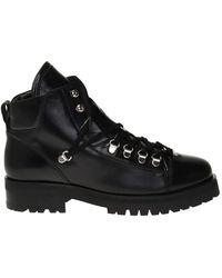 AllSaints 'lia' Leather Shoes - Black