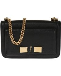 ad18d8bf80 Lyst - Furla Ginevra Medium Leather Hobo Bag in Gray