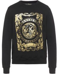 Billionaire - Patterned Sweatshirt - Lyst