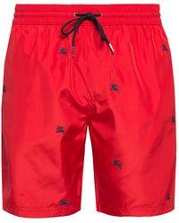 70c953a51e7f Burberry Black Daisy Ska Guildes Swim Shorts in Black for Men - Lyst