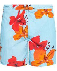 AllSaints 'kew' Swim Shorts - Blue