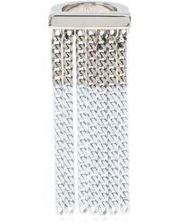 MM6 by Maison Martin Margiela Appliquéd Ring - Metallic