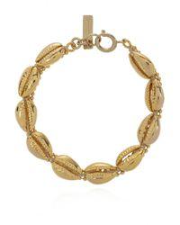 Isabel Marant Shell Bracelet - Metallic