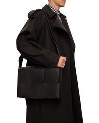Bottega Veneta 'intrecciato' Weave Shoulder Bag Black