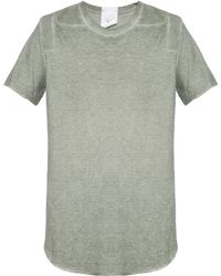 Lost & Found - T-shirt With Ripped Sides - Lyst