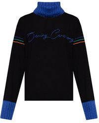 Opening Ceremony Wool Sweater With Logo - Black