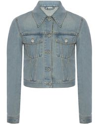 Gucci - Patched Denim Jacket - Lyst