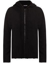 Zadig & Voltaire Hooded Cardigan Black
