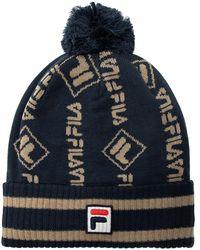 Fila Pompom Hat Unisex Navy Blue