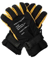 Off-White c/o Virgil Abloh Insulated Gloves Black