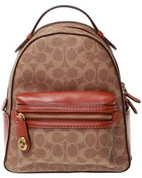COACH - Signature Campus Backpack - Lyst