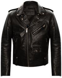 Givenchy Leather Jacket Black
