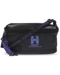 White Mountaineering Shoulder Bag With Logo - Black