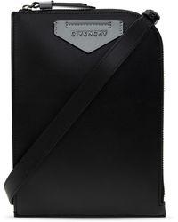 Givenchy Leather Shoulder Bag Black