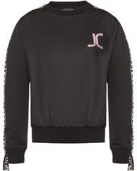 Just Cavalli - Logo Patch Sweatshirt - Lyst