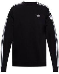 adidas Originals Branded Sweatshirt Black