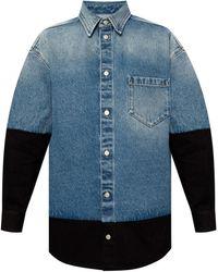 MM6 by Maison Martin Margiela Denim Shirt - Blue