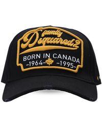 DSquared² Baseball Cap Black