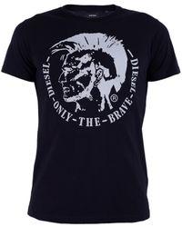 DIESEL Cotton T-shirt - Black