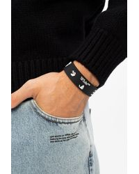 Off-White c/o Virgil Abloh Logo Bracelet Black