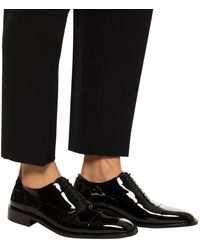 Balenciaga Leather Shoes Black