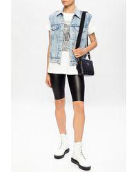 AllSaints - 'cora' Shorts Black - Lyst