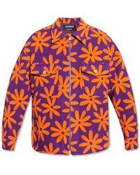 Jacquemus Wool Jacket - Purple