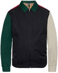 Burberry - Logo-embroidered Jacket - Lyst