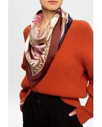 Ferragamo Silk Shawl Multicolour