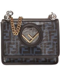 Fendi 'kan I' Shoulder Bag - Black