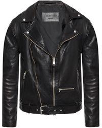 AllSaints 'wick' Biker Jacket - Black
