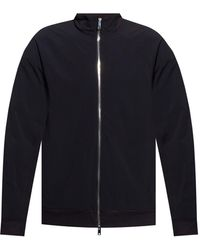 Theory Jacket With Standing Collar - Black