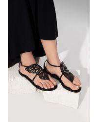 Sophia Webster 'butterfly' Sandals Black