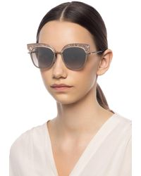 Jimmy Choo 'rosy' Sunglasses - Multicolour