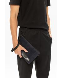 Versace Jeans Couture Branded Clutch - Blue