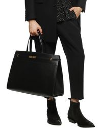 Saint Laurent 'manhattan' Shoulder Bag Black