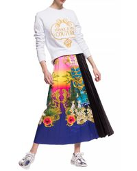 Versace Jeans Couture Pleated Skirt - Black