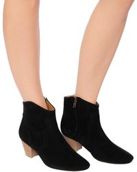 Isabel Marant Dicker Ankle Boots - Black