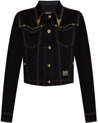 Versace Jeans Couture Denim Jacket - Black