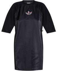 adidas Originals Dress With Logo Black