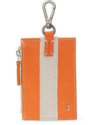 Jacquemus Wallet With Clip - Orange