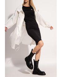 adidas Originals Dress With Logo - Black