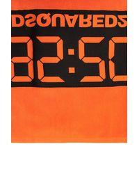 DSquared² Towel 25th Anniversary Collection Unisex Orange