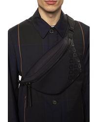 Dolce & Gabbana Branded Belt Bag - Black