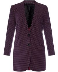 Paul Smith - Patterned Blazer With A Vent - Lyst
