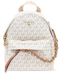 MICHAEL Michael Kors 'slater' Backpack - Natural