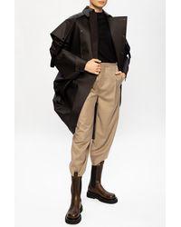 Bottega Veneta Oversize Coat Black
