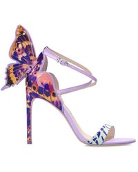 Sophia Webster 'chiara' Stiletto Sandals - Purple